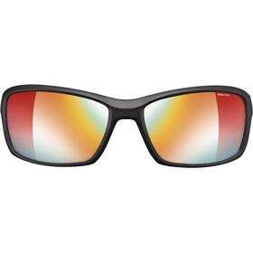 Julbo Run Reactiv Performance Okulary przeciwsłoneczne Mężczyźni, black/red/multilayer red